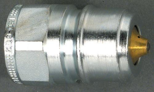 Schnellkupplung TEMA mit Druckeliminator BSP Stecker