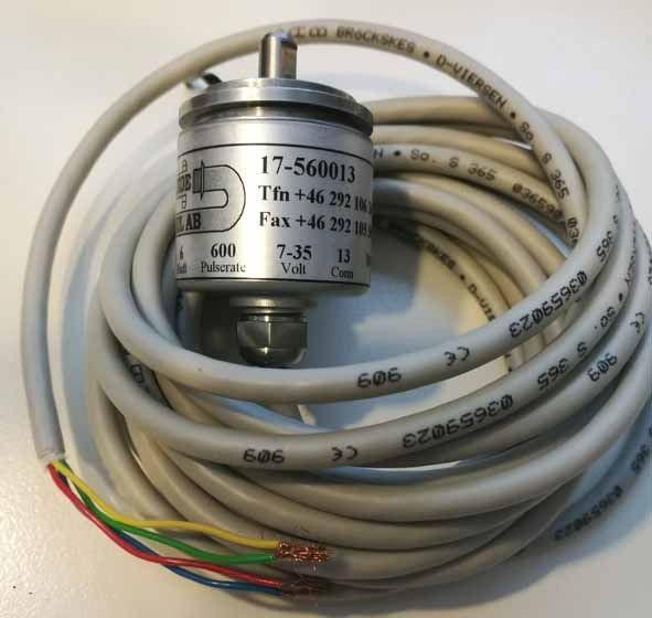 Durchmessergeber LogMax 600 ppr Welle 6 mm